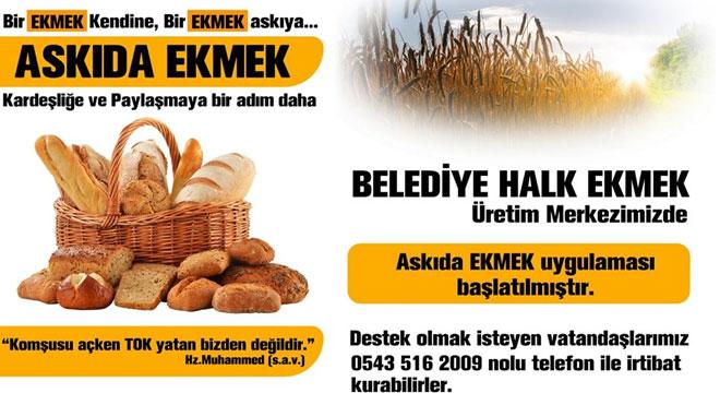 ASKIDA EKMEK VAR' PROJESİNE YERKÖYDEKİ FIRINCILAR DA DESTEK VERDİ