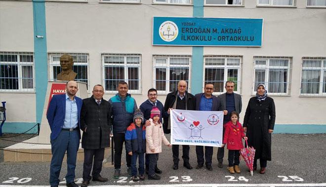YOZGAT'TA 70 OKULA 'BEYAZ BAYRAK' SERTİFİKASI