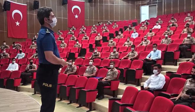 YOZGAT POLİS OKULUNDA İLK KEZ 'BEKÇİ' EĞİTİMİ