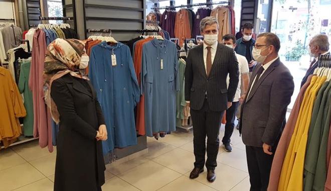 VALİ POLAT'DAN İŞYERLERİNDE VATANDAŞLARA UYARI DENETİMİ