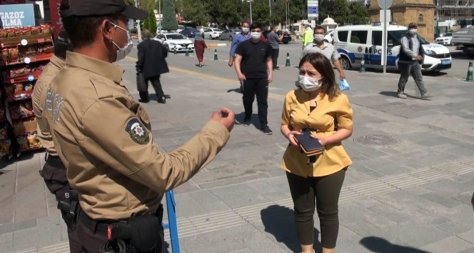POLİS CEZA YAĞDIRIYOR 380 KİŞİYE 342 BİN TL PARA CEZASI