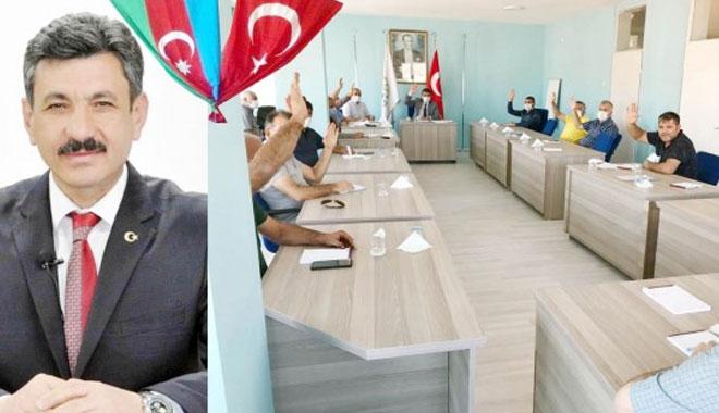 BAŞKAN FERHAT YILMAZ: AZERBEYCANIN YÜREKTEN YANINDAYIZ