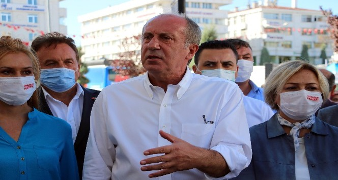 MUHARREM İNCE'DEN YOZGAT'TA LİSE CADDESİ GEZİNTİSİ