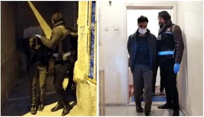 YOZGAT POLİSİNDEN DEAŞ ÖRGÜTÜNE 'ŞAFAK' BASKINI