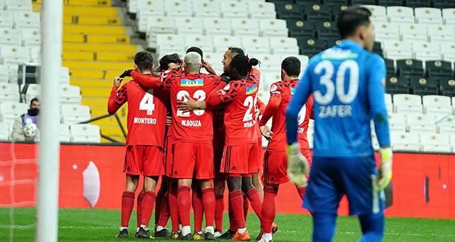 Beşiktaş, kupada çeyrek finalde