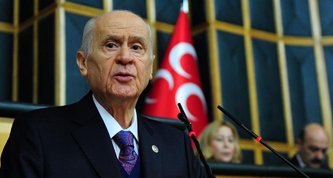 Devlet Bahçeli: 'Yeni bir anayasa yapmak, Türkiye'nin '21'inci Yüzyılda Lider Ülke' gayesine muazzam bir hizmettir'