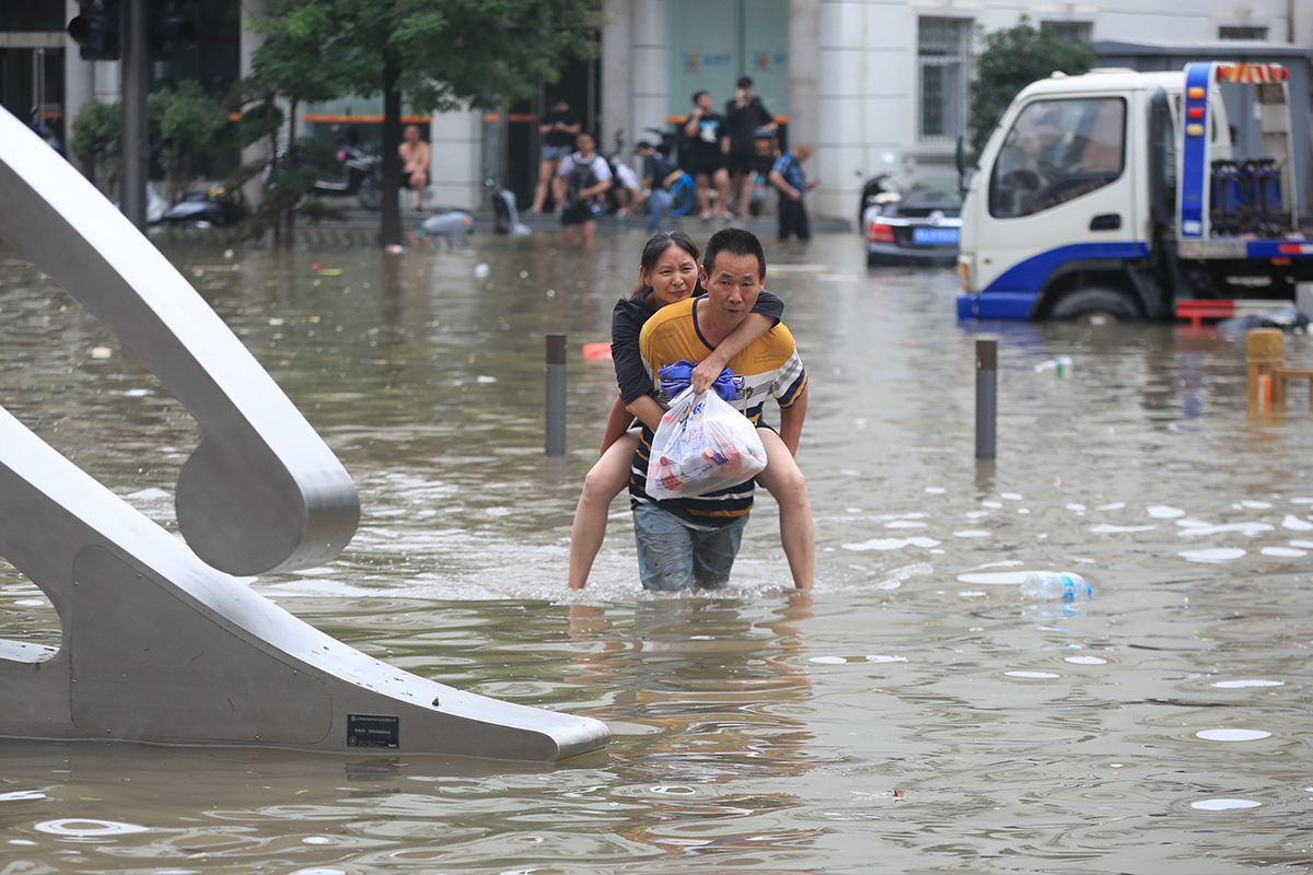 Çin'deki sel felaketinde can kaybı 25'e yükseldi